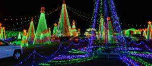 Christmas Holiday Festival of Lights Display